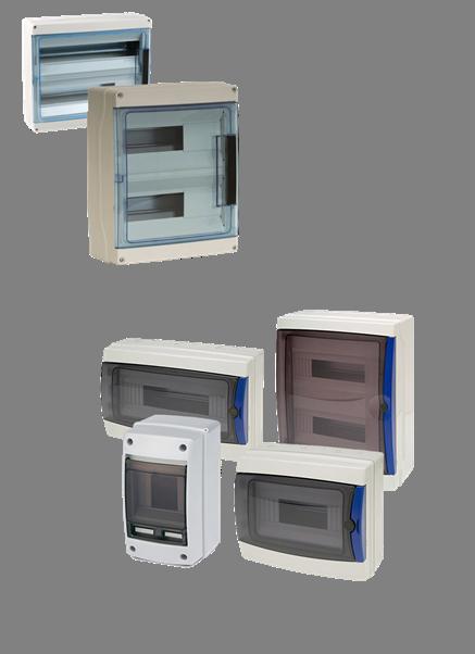 COFFRETS PLASTIQUES 4-42 modules