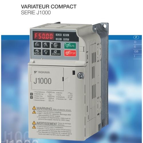 Variateur Compact 0.75 Kw 230v