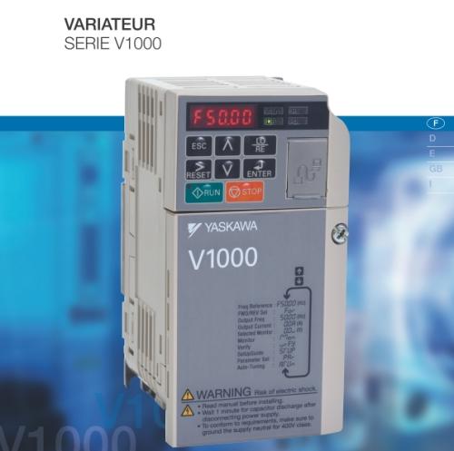Variateur compact à contrôle vectoriel 0.37 Kw 230 V
