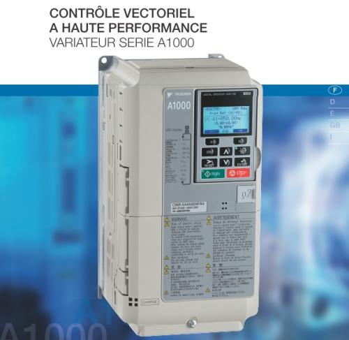 Variateur a contrôle vectoriel à haute performance 7.5KW 400V