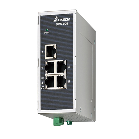 Switch Ethernet industriel non manageable 5x10/100TX