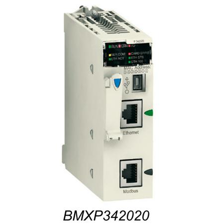 Processeur M340 Modbus Ethernet
