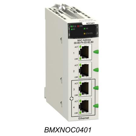 Coupleur Ethernet/IP et Modbus/TCP pour M340