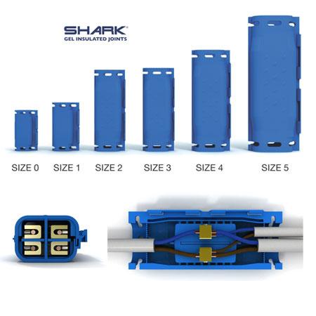 Boite de jonction basse tension SHARK 525WS