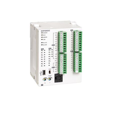 DVP20SX2 configuration avec ISPSoft