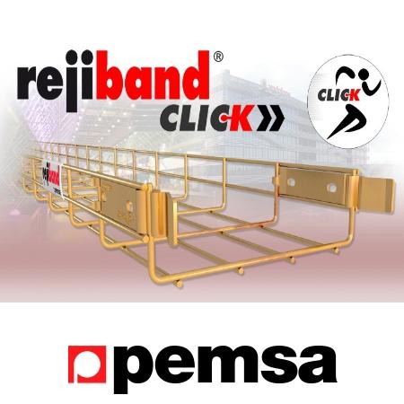 Chemins de câble rejiband Click