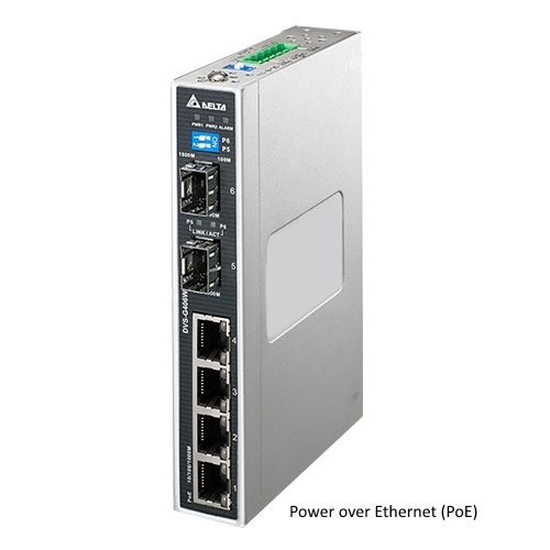 Switch PoE Ethernet 6-Port