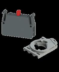 Blocs de contact et adaptateurs série E2