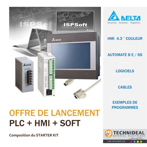 DELTA : Starter Kit Automate & HMI